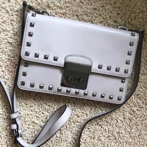 Michael Kors studded crossbody purse